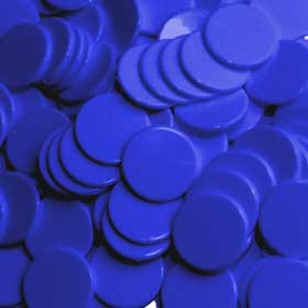 22mm Counters BLUE x1000